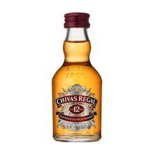 Chivas Regal Whisky 12 anos Escocês 50ml